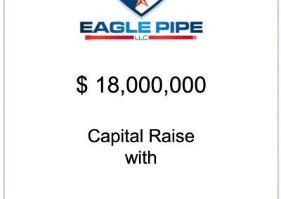 NorthView represents Eagle Pipe in closing its first Credit Facility