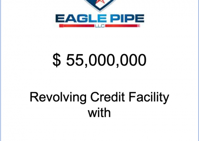 NorthView Advisors refinances Eagle Pipe's existing credit facility