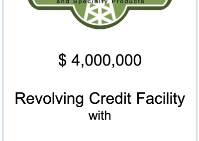 Revolving Credit Facility for Fidelity Fuels