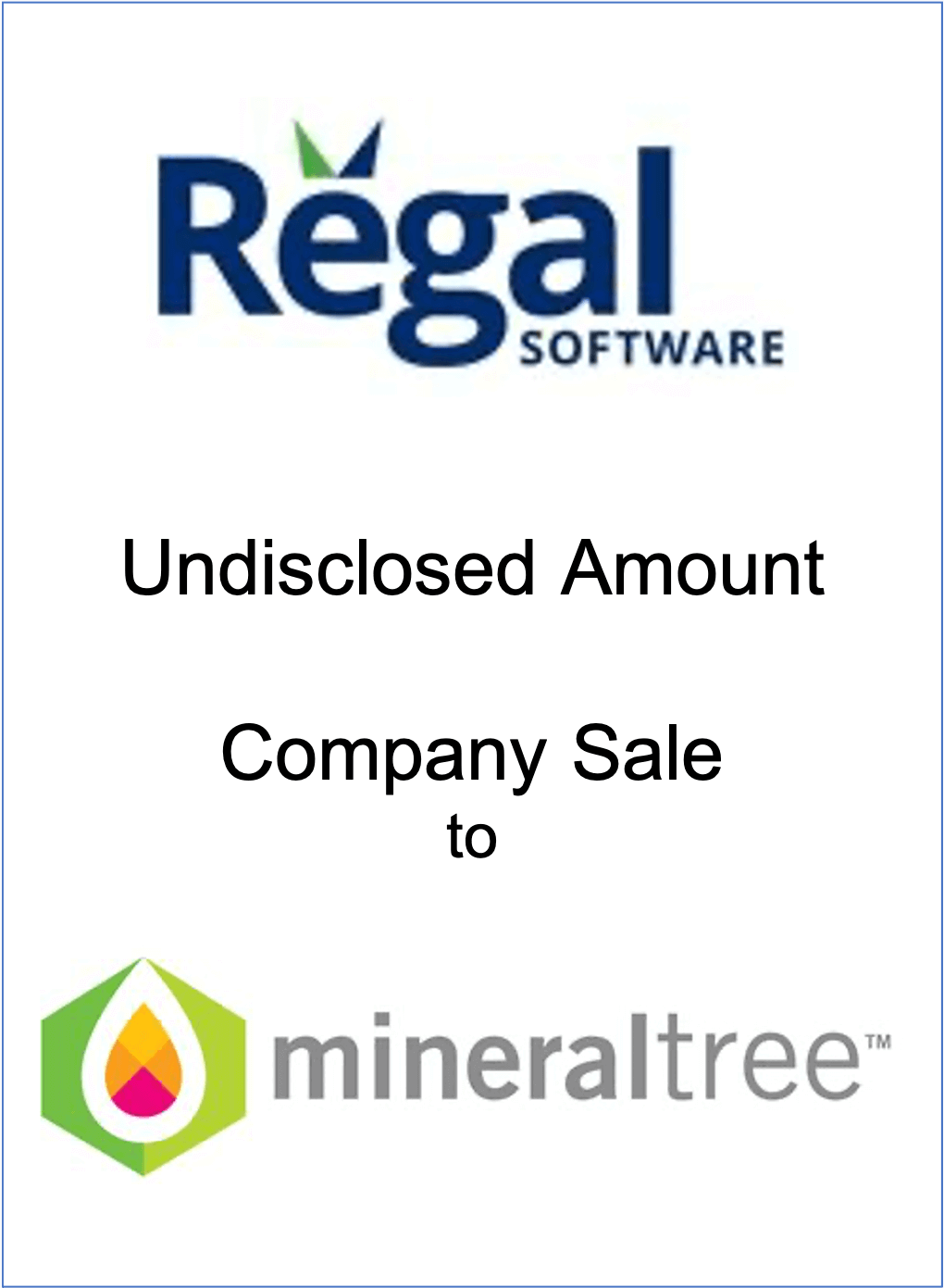 NorthView Advisors represents Regal Software in its sale to MineralTree
